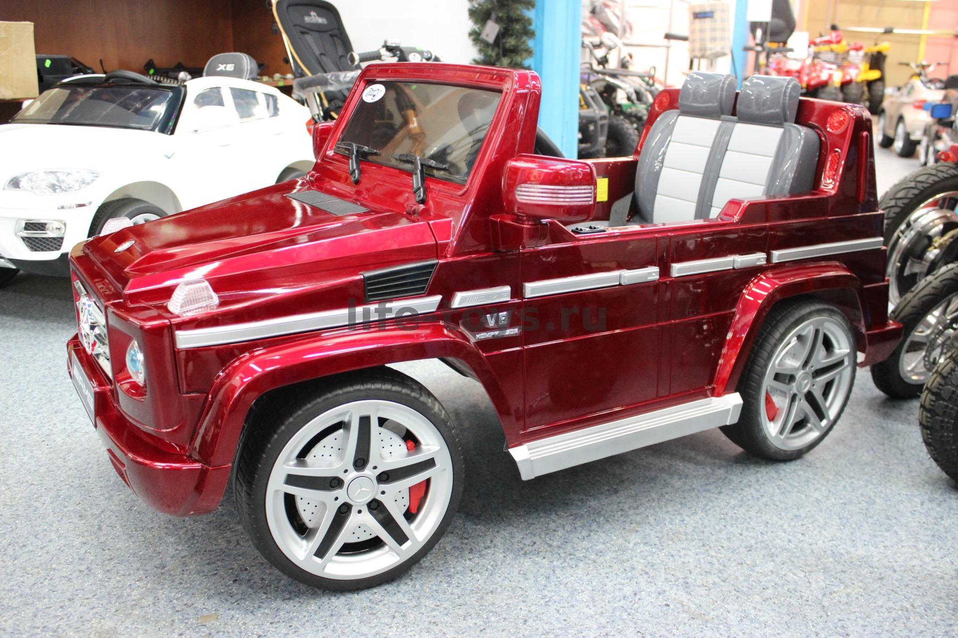 Детский электромобиль Mercedes G65 AMG VIP EDITION